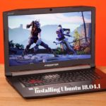 How to install and Dual Boot Ubuntu 18.04 on Acer Predator Helios 300