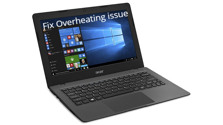 Acer Aspire One Overheating issue fix