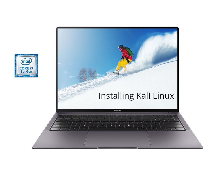 Install Kali Linux on Huawei Matebook X