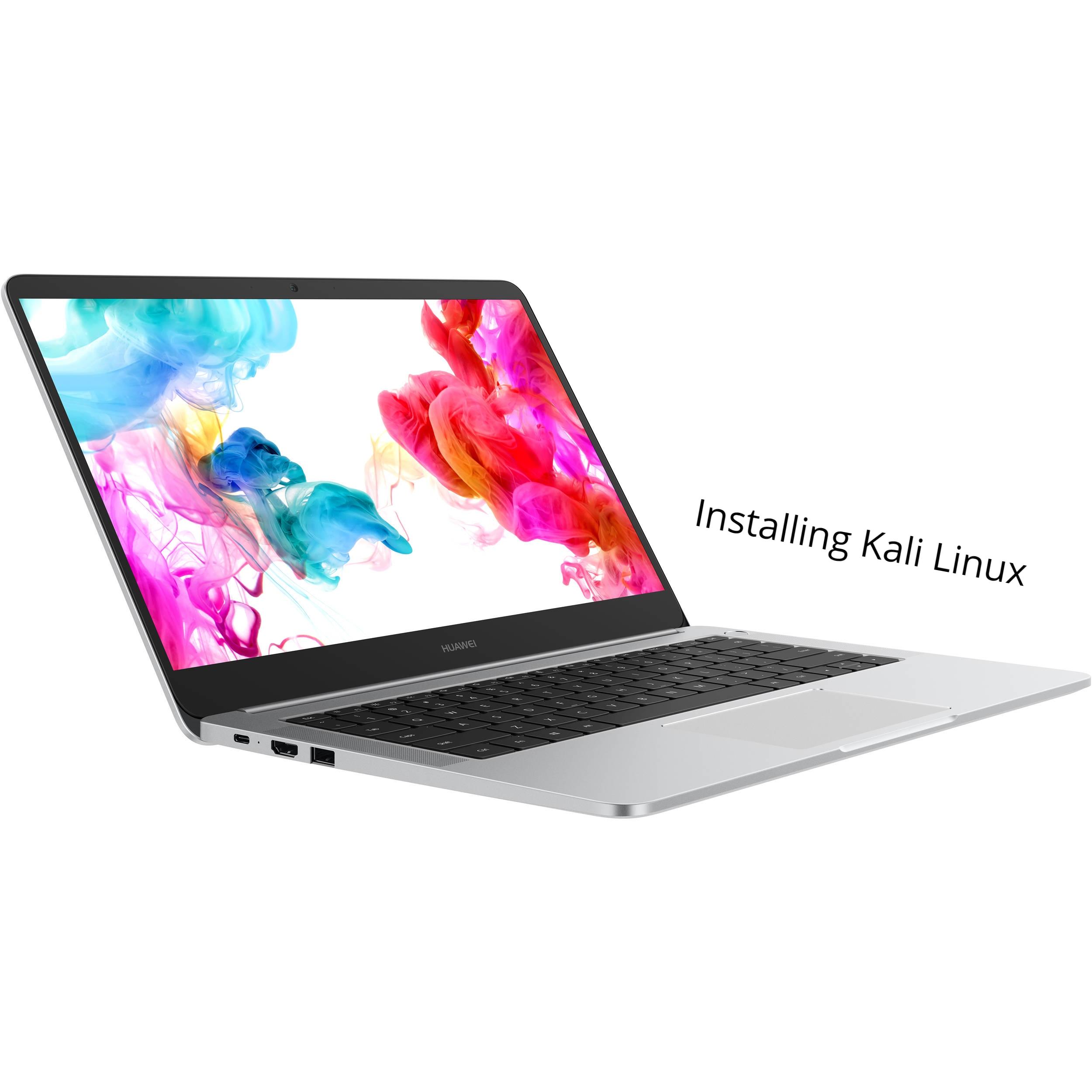 install kali Linux on Huawei matebook D