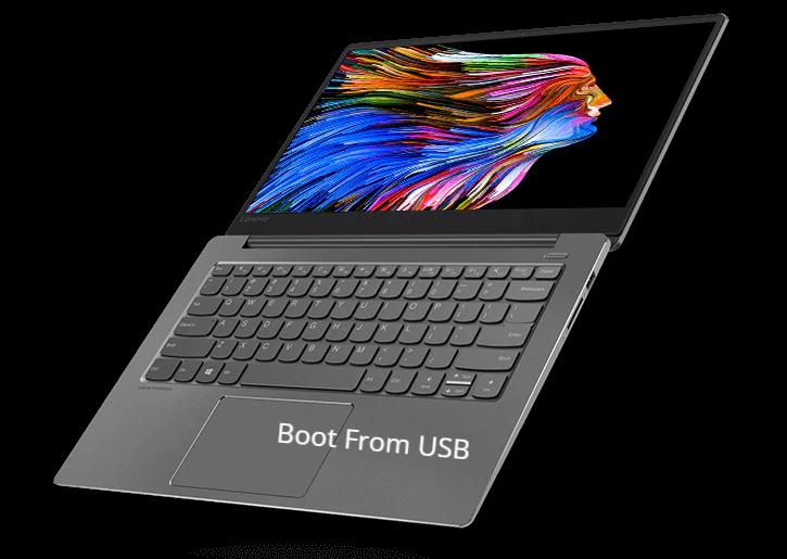 Boot From USB in Lenovo Ideapad 520