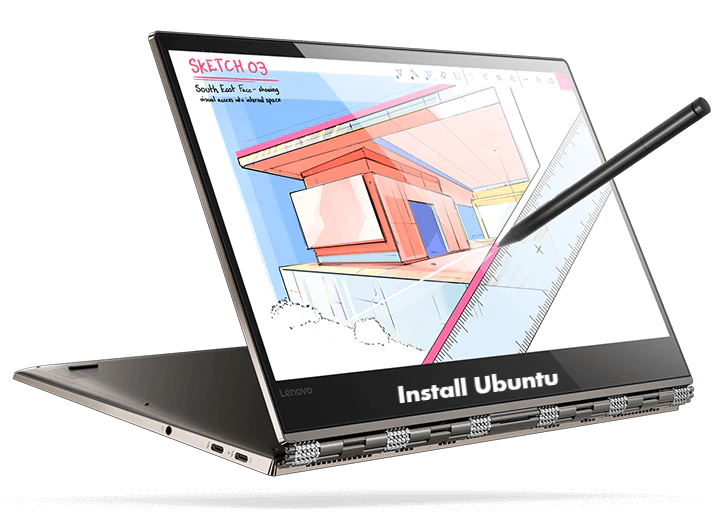 Install Ubuntu on Lenovo Yoga 920