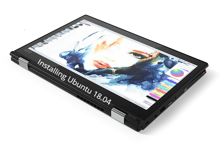 Install Ubuntu on Lenovo ThinkPad L380 Yoga