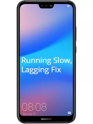 Huawei P20 Lite running slow