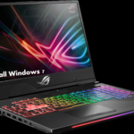 How to install Windows 7 on Asus Rog Strix Hero II from USB