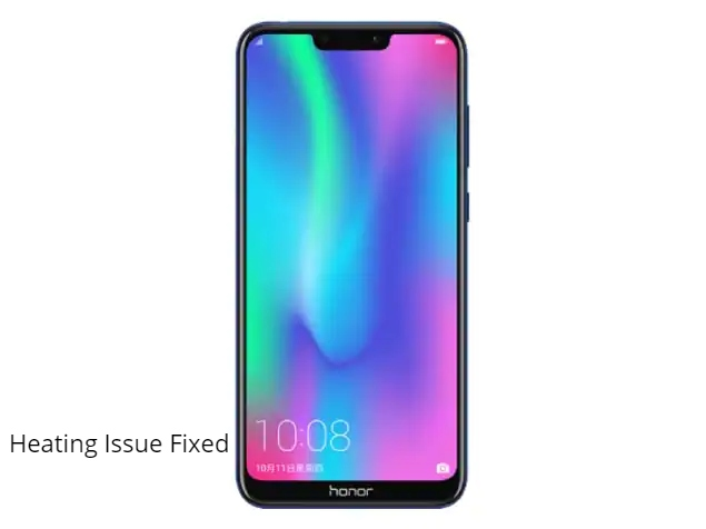 Honor 8C heating issue fix