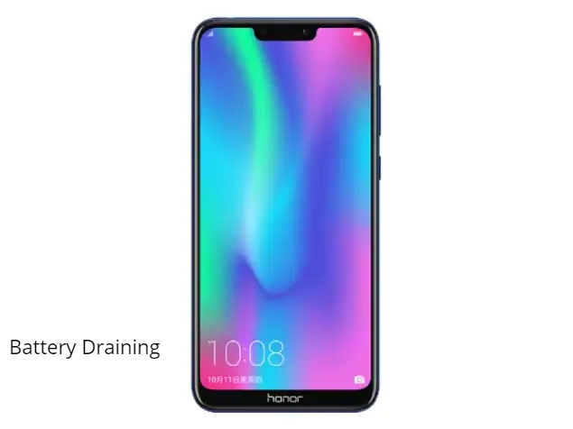 Honor 8C Battery Drain issue