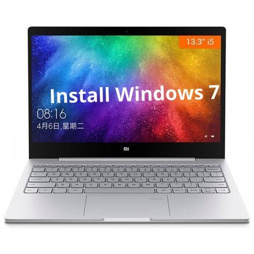 Install Windows 7 on Xiaomi Mi Notebook Air
