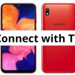 How to connect Samsung Galaxy A10 with TV