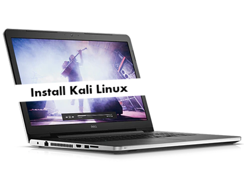 Install Kali Linux on Dell Inspiron 17 5000
