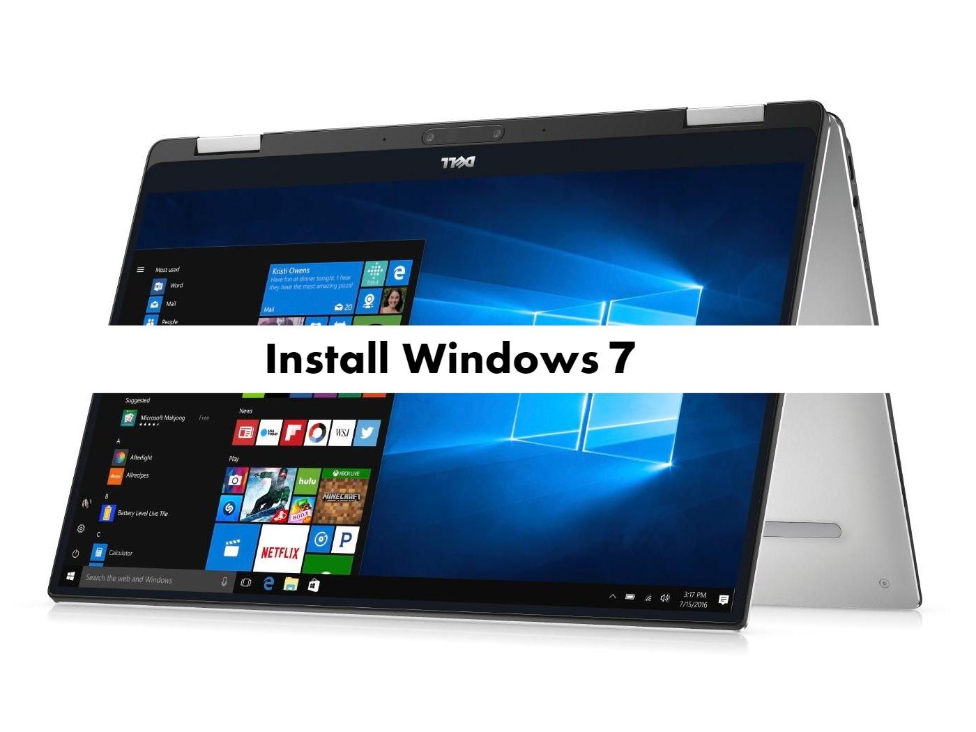 Dell XPS 13 9365 Windows 7
