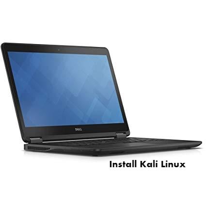 Dell Latitude E7450 Kali Linux