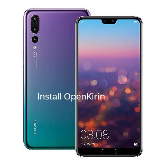 Huawei P20 Pro Openkirin