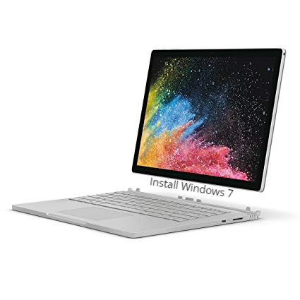 Install Windows 7 on Surface Book 2