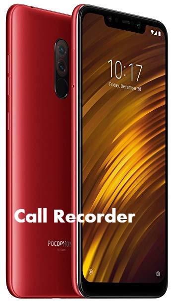 Poco F1 Call Recorder