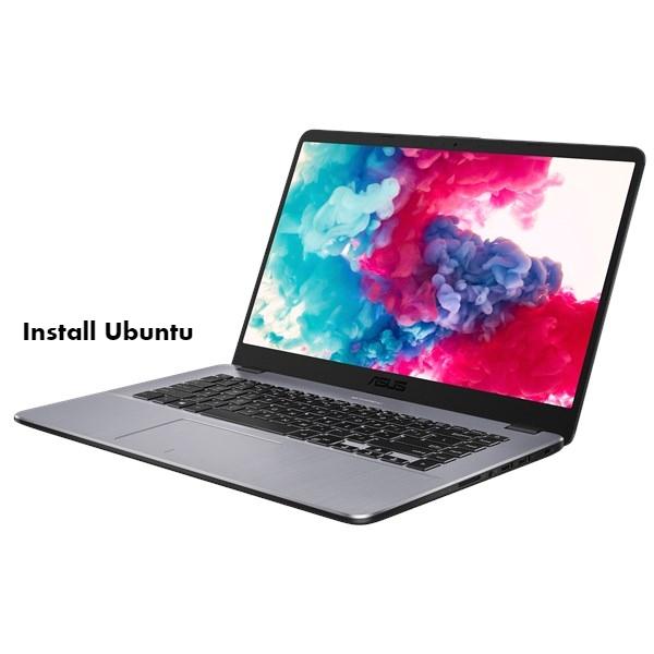 Install Ubuntu on Asus VivoBook 15 X505.