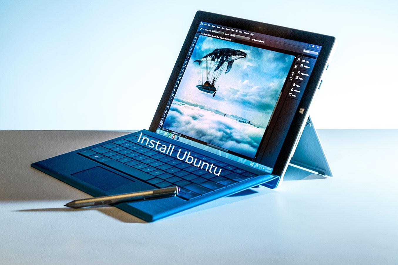 Surface Pro 3 Ubuntu