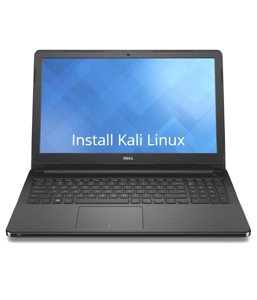 Dell Vostro 3568 Kali Linux