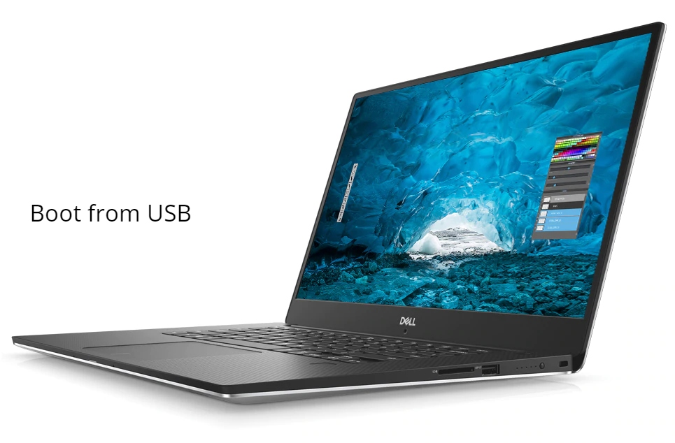 Dell XPS 15 9570 Boot From USB