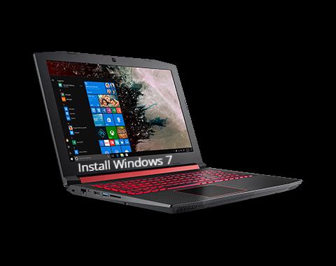 Install Windows 7 on Acer Nitro 5