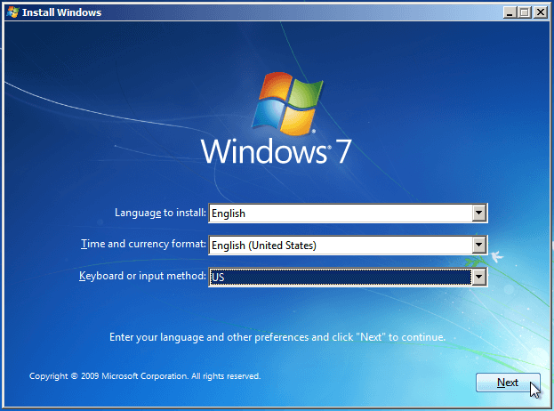 Install Windows 7 in HP 250 G6