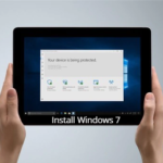 How to install Windows 7 on Microsoft Surface Go with USB