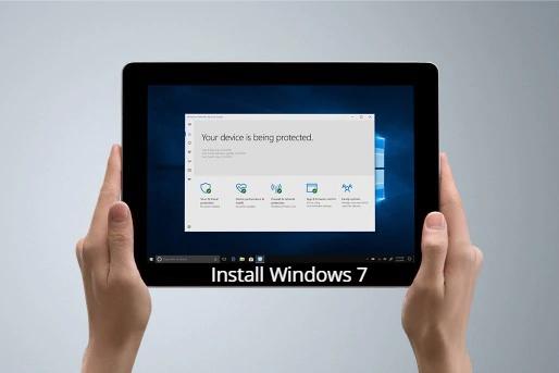 Install Windows 7 on Microsoft Surface Go