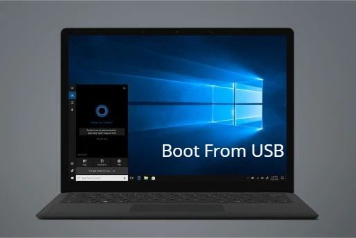 Microsoft Surface Laptop 2 Boot From USB