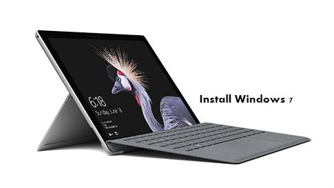 Install Windows 7 on Surface Pro 3