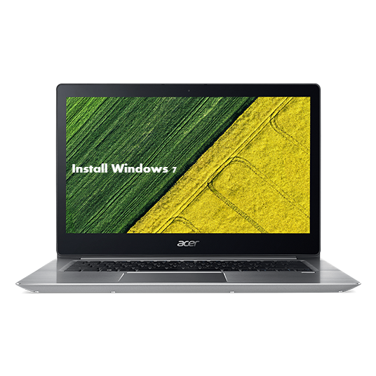 Install Windows 7 on Acer Swift 3 SF314-55