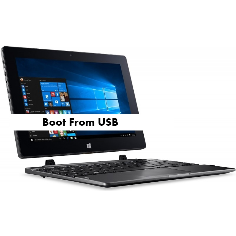 Acer Switch 10 Boot From USB