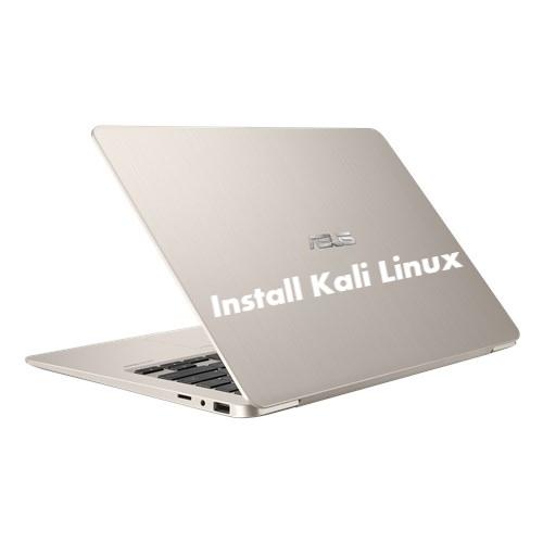 Install Kali Linux on Asus VivoBook S14 S406UA