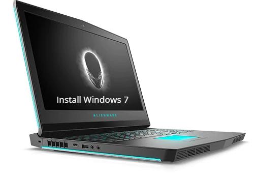Install Windows 7 on Dell Alienware 17 R5