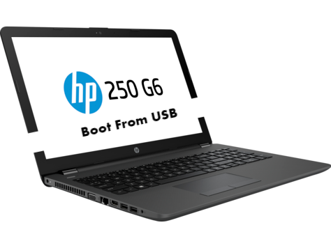 HP 250 G6 Boot From USB
