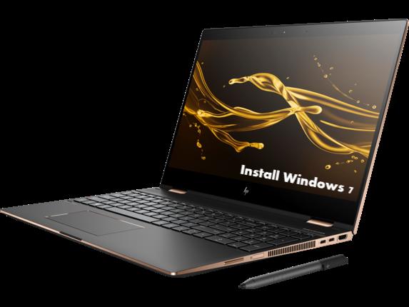 Install Windows 7 on HP Spectre x360