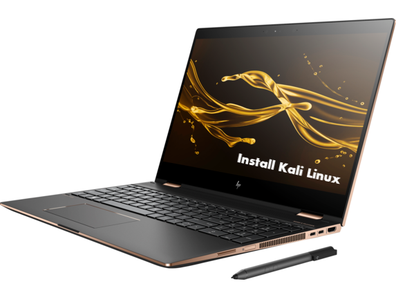 Install Kali Linux on HP Spectre x360
