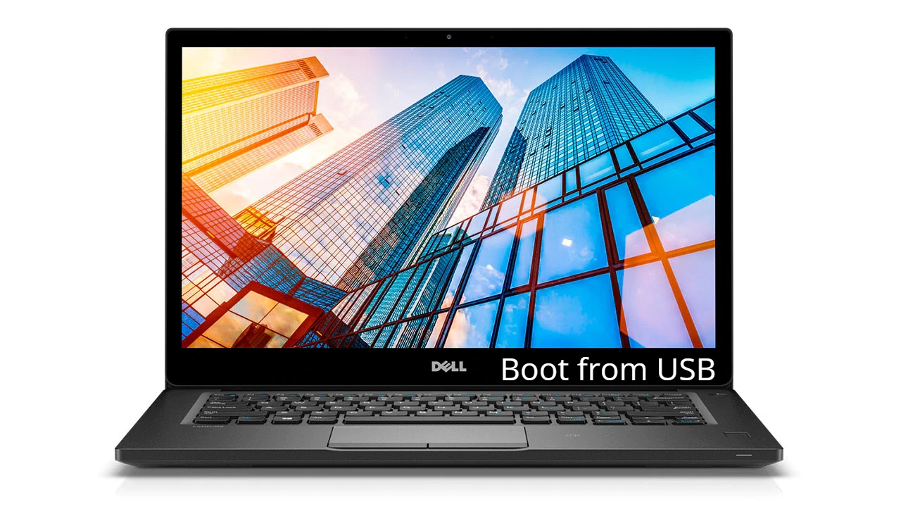 Dell Latitude 7490 Boot from USB