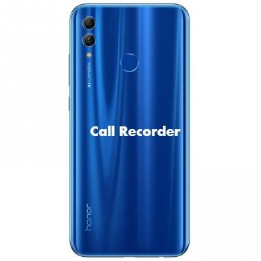 Honor 10 Lite Call Recorder