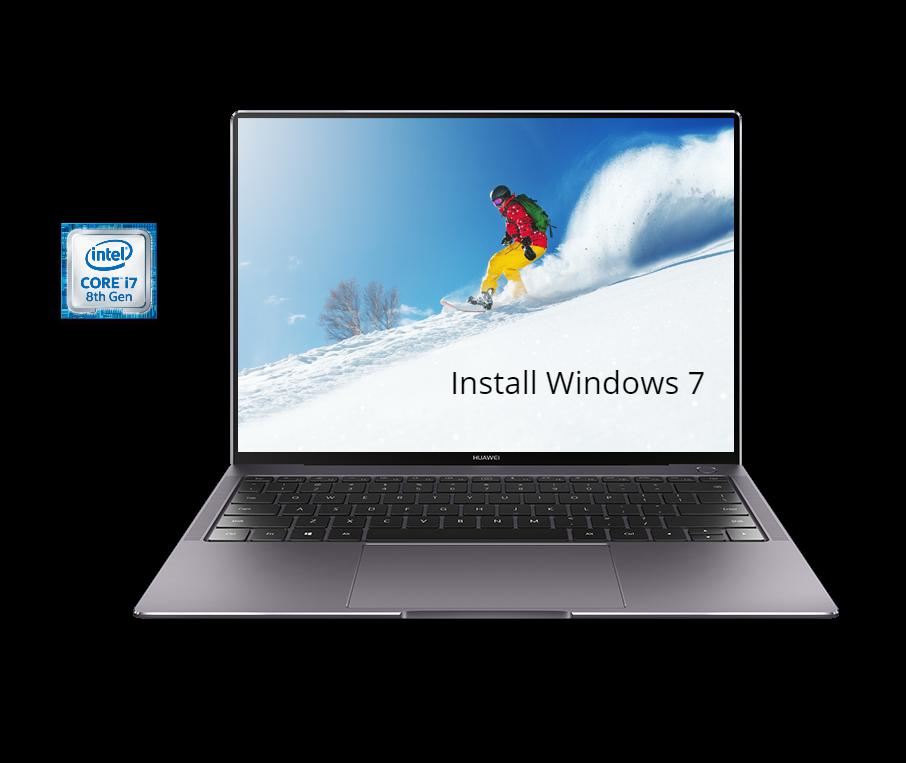 Install Windows 7 on Huawei MateBook X Pro