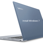 How to install Windows 7 in Lenovo Ideapad 320 with USB