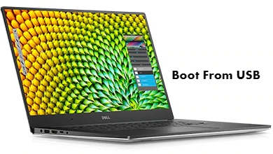 Dell XPS 15 9560 Boot From USB