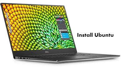 Install Ubuntu in Dell XPS 15