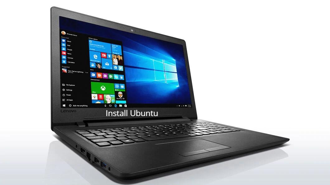 Ideapad 110 Install Ubuntu