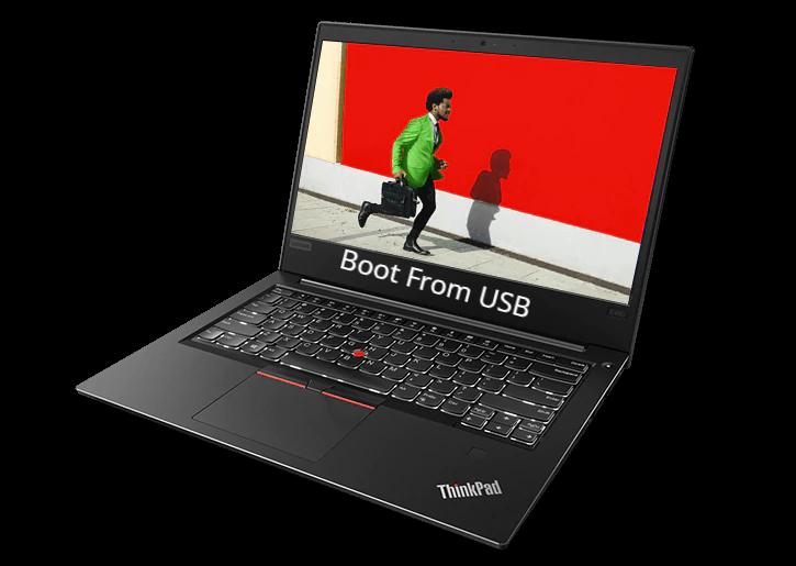 Lenovo Thinkpad E480 Boot From USB