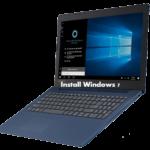 How to install Windows 7 on Lenovo Ideapad 330 from USB