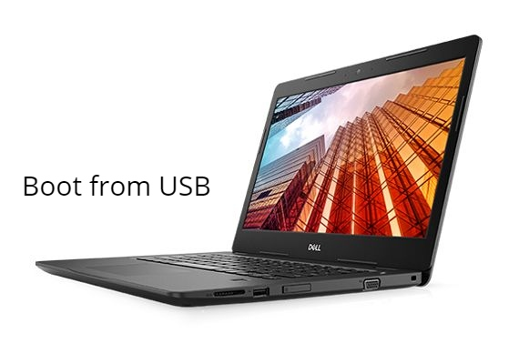 Dell Latitude 3490 Boot from USB