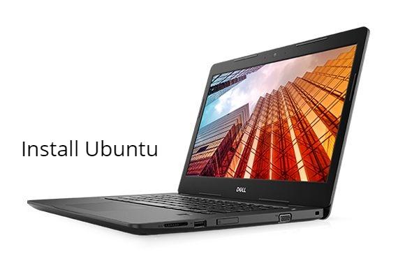 Dell Latitude 3490 install Ubuntu