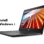 How to install Windows 7 on Dell Latitude 3490 with USB