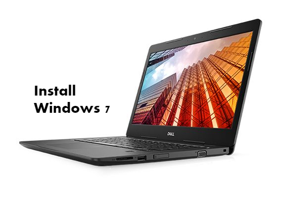 Install Windows 7 on Dell Latitude 3490