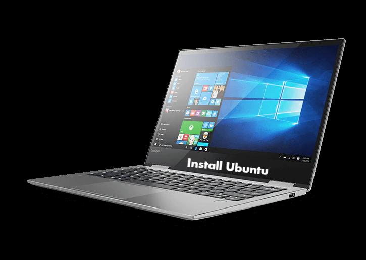 Install Ubuntu in Lenovo Yoga 720